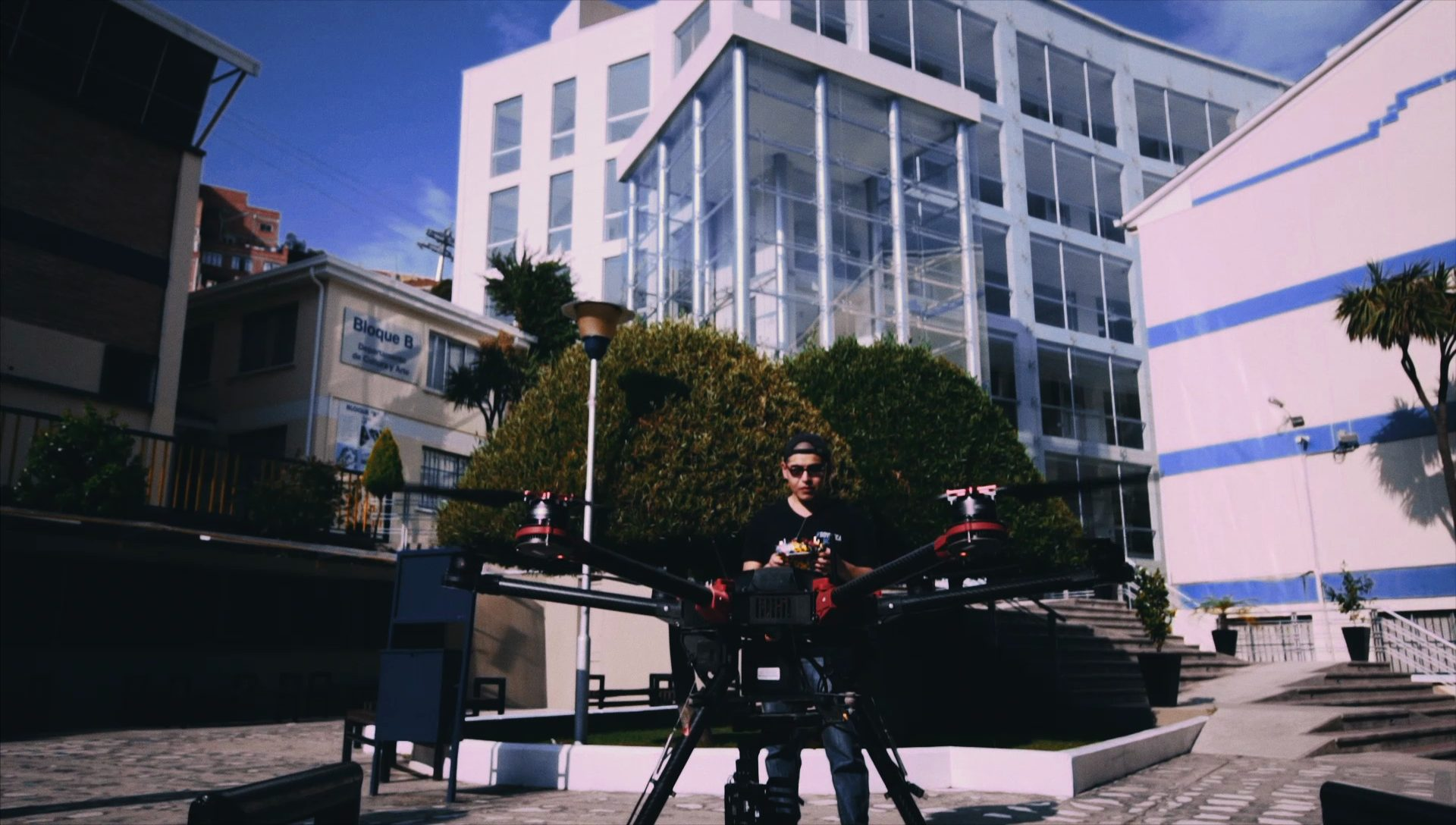 Marco and his drone